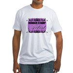 Rubber Stamp Artist Fitted T-Shirt