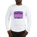 Rubber Stamp Artist Long Sleeve T-Shirt