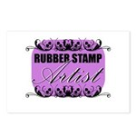 Rubber Stamp Artist Postcards (Package of 8)