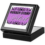 Rubber Stamp Artist Keepsake Box