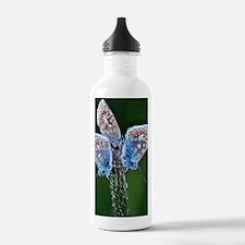 Common Blue Butterflie Water Bottle