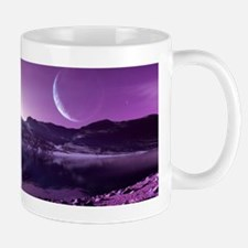 Earth-like planet, artwork Mug