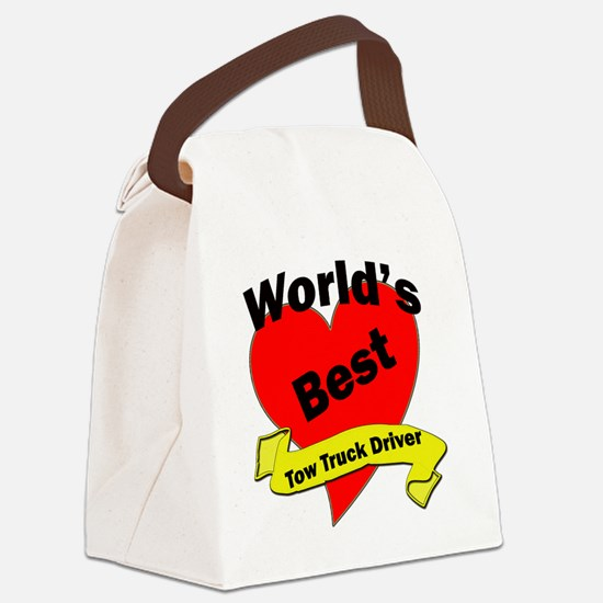 Worlds Best Truck Driver Canvas Lunch Bag