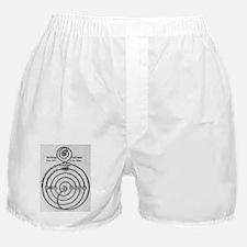 Egyptian solar system model Boxer Shorts