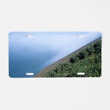 Coastal mist Aluminum License Plate