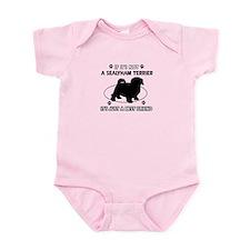 sealyham designs Infant Bodysuit