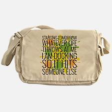 Ducking Messenger Bag