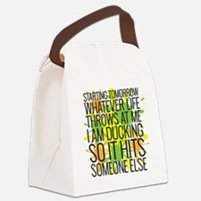 Ducking Canvas Lunch Bag