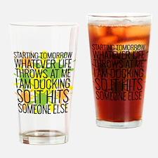 Ducking Drinking Glass