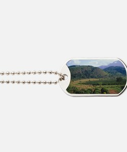 Coffee plantation Dog Tags