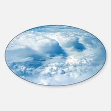 Clouds Sticker (Oval)