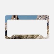 Dolomites mountain region, It License Plate Holder