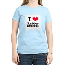 I Love Rubber Stamps T-Shirt
