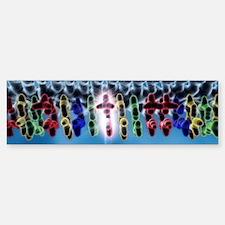 DNA point mutation, artwork Bumper Bumper Sticker