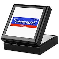 "Aleja ""Solidarnosci"", Warsaw (PL) Keepsake Box"