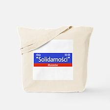 "Aleja ""Solidarnosci"", Warsaw (PL) Tote Bag"