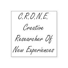 """CRONE Square Sticker 3"""" x 3"""""""
