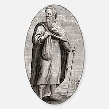 Diogenes of Sinope, Greek philosoph Decal