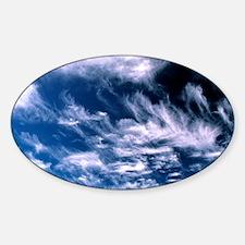 Cirrus clouds Decal