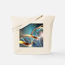 DNA molecule, artwork Tote Bag