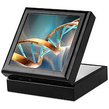 DNA molecule, artwork Keepsake Box
