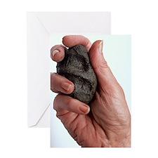 Clay soil Greeting Card