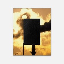 Chimney smoke from a chemical plant  Picture Frame