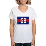 GB Colors Women's V-Neck T-Shirt