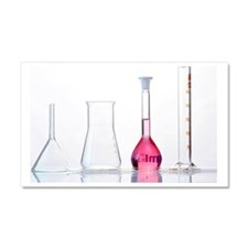 Chemistry glass-ware Car Magnet 20 x 12