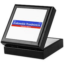 Krakowskie Przedmiescie, Warsaw (PL) Keepsake Box