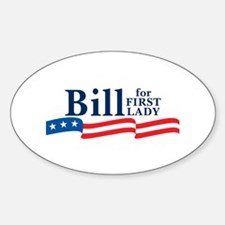 DecalBumper_90_H_F_BillFirstLady1 Decal