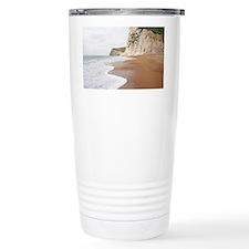 Chalk cliffs Travel Mug