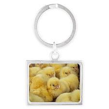 Chicks Landscape Keychain