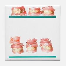 Dental moulds Tile Coaster