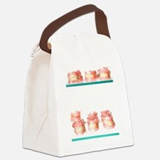 Dental moulds Canvas Lunch Bag