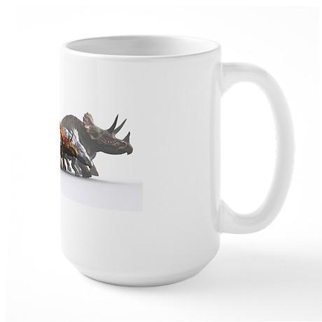 Ceratopsian dinosaurs Large Mug