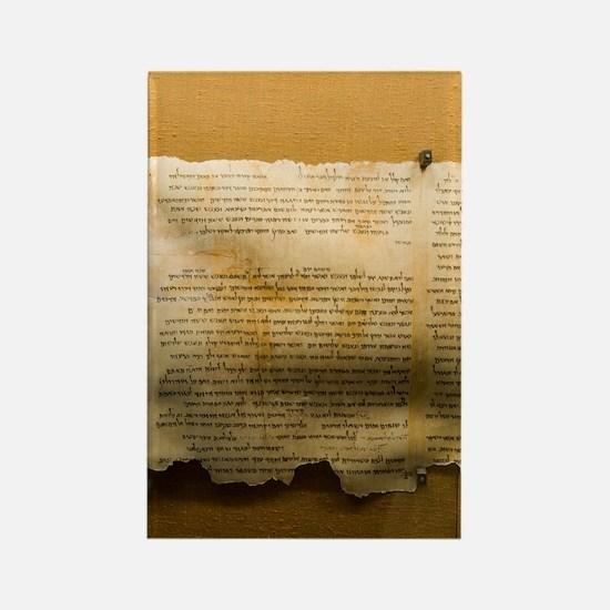 Dead Sea scroll Rectangle Magnet