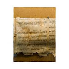 Dead Sea scroll Twin Duvet