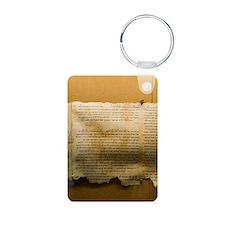 Dead Sea scroll Keychains