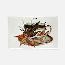 AUTUMN Teacup Fairy Rectangle Magnet