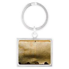 Dead Sea scroll Landscape Keychain
