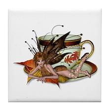 AUTUMN Teacup Fairy Tile Coaster