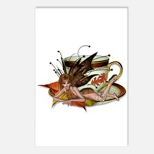 AUTUMN Teacup Fairy Postcards (Package of 8)