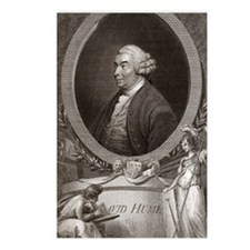 David Hume, Scottish phil Postcards (Package of 8)