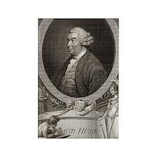David Hume, Scottish philosopher Rectangle Magnet