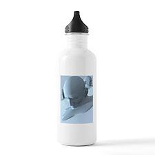 Depression, conceptual Water Bottle