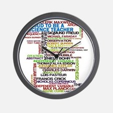 Proud Science Teacher Wall Clock
