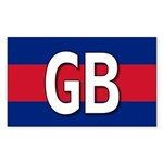 GB Colors Rectangle Sticker