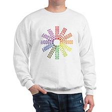 Hex color wheel Sweatshirt