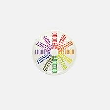 Hex color wheel Mini Button